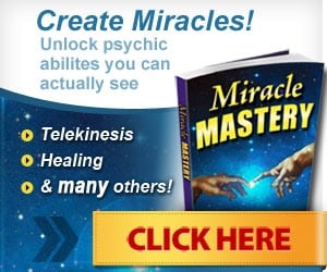 Create Miracles! Unlock psychic abilities you can actually see...