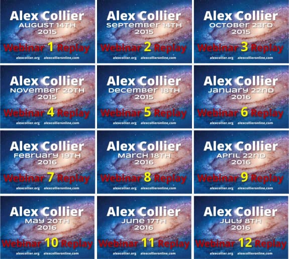 Alex Collier Online - Webinar Group