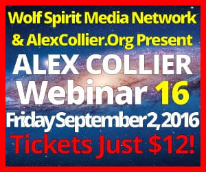 Alex Collier's SIXTEENTH Webinar *Live* - September 2, 2016!
