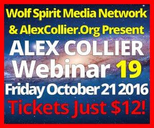 Alex Collier's NINETEENTH Webinar *LIVE* - October 21, 2016!