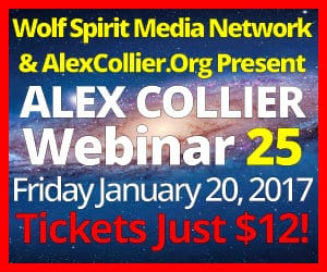 Alex Collier's TWENTY-FIFTH Webinar *LIVE* - January 20, 2017!