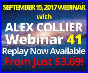 Alex Collier's FORTY-FIRST Webinar *REPLAY* - September 15, 2017!