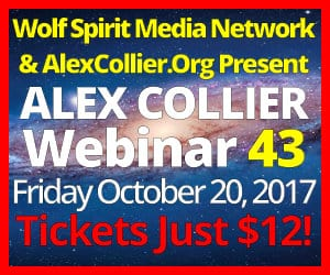 Alex Collier's FORTY-THIRD Webinar *LIVE* - October 20, 2017!