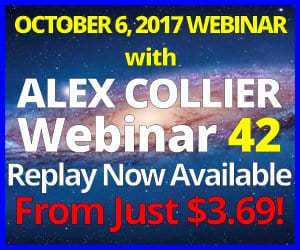 Alex Collier's FORTY-SECOND Webinar *REPLAY* - October 6, 2017!